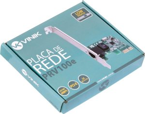 PLACA DE REDE PCI-E 10/100 PRV-100E VINIK