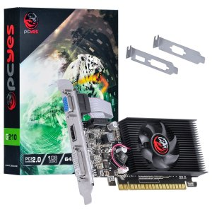 PLACA DE VIDEO 1 GB PCIEXP G210 PA210G6401D3LP 64BITS DDR3 LOW PROFILE PCYES