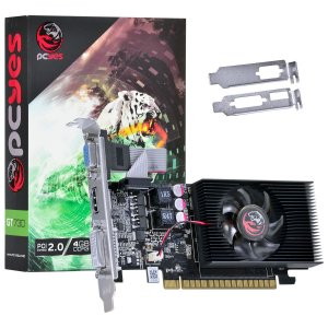 PLACA DE VIDEO 4GB PCIEXP GT 730 PW730GT12804D3LP 128BITS DDR3 GEFORCE LOW PROFILE PCYES