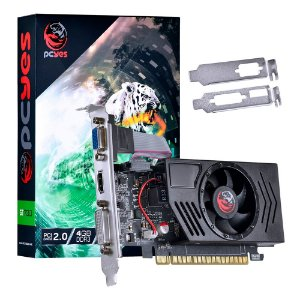 PLACA DE VIDEO 4GB PCIEXP GT730 PV73012804D3LP 128BITS DDR3 NVIDIA LOW PROFILE PCYES