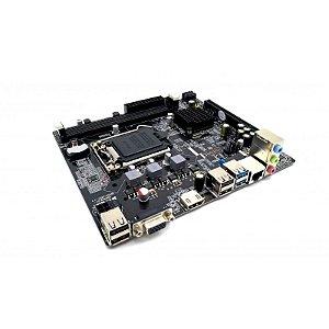 PLACA MAE 1150 MICRO ATX CYBAF-10-H81 DDR3 VGA/HDMI ISYNC SEM EMBALAGEM