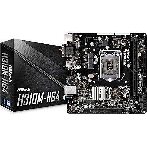 PLACA MAE 1151 MICRO ATX H310M-HG4 DDR4 ASROCK