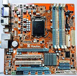 PLACA MAE 1155 MICRO ATX ST 4272 DDR3 VGA/DVI/HDMI/DP ITAUTEC