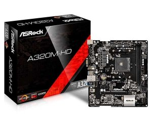 PLACA MAE AM4 MICRO ATX A320M-HD ASROCK