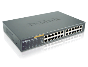 SWITCH 24P 10/100 DES-1024D DLINK