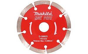 Disco De Serra Mármore 110mm Côncavo Marca: Makita D-30623