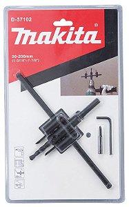 Furador Circular Ajustável 30-200mm  Mod: D-57102 Marca: Makita