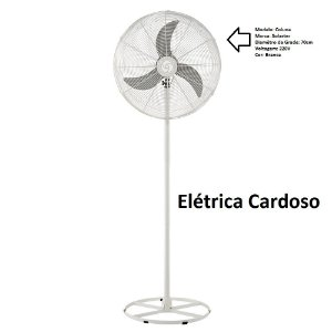 Ventilador Veneza Plus Coluna Cor: Branco 220V Marca: Solaster