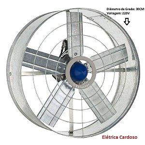 Exaustor de Parede 30cm 137W Marca: Solaster 220V Monofásico