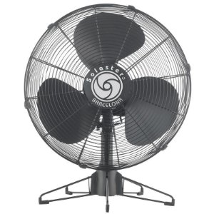 Ventilador Barcelona Mesa 50cm Cor: Preto - Marca: Solaster 220V