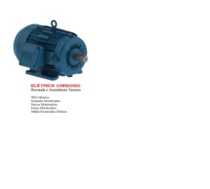 MOTOR ELETRICO 3.0CV - 4P - 90L - IP55 - 220/380V (FLANGE C-DIN)- WEG