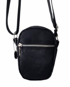Shoulder Bag Black Cetim