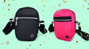 KIT 1 - SHOULDER BAGS - BLACK&NEON