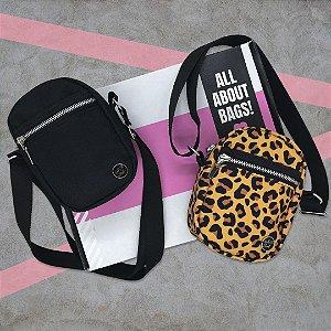 KIT - SHOULDER BAGS - BLACK&ONÇA