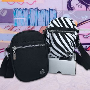 KIT - SHOULDER BAGS - BLACK&ZEBRA