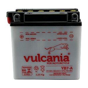 Bateria Vulcania YB7-A 8Ah YES Intruder 125 Katana V Blade