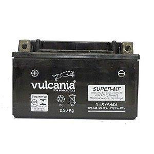 Bateria Vulcania YTX7A-BS 6Ah Future Burgman 125 Ninja 250