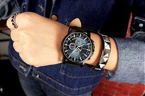 07eaff6c416 Relógio Masculino Luxo Quartzo Pulso Yazole