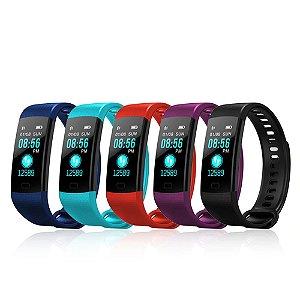 Relógio inteligente Pulseira Smartband Y5 Preto