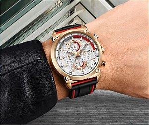 Relógio Lige 10004 Masculino Luxo Importado C/caixa Original