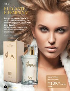 Perfume Shine Be Emotion - Feminino 100ml