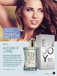 Enjoy Be Emotion - Feminino 100ml