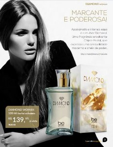 Diamond Woman Be Emotion - Feminino 100ML