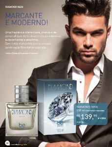 Perfume Diamond Man Be Emotion - Masculino 100ML