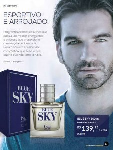 Perfume Blue Sky Be Emotion - Masculino 100ML