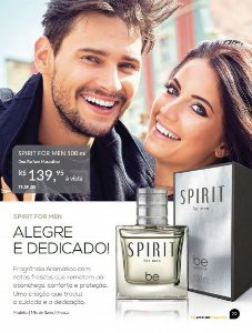Perfume Spirit Be Emotion - Masculino 100ml