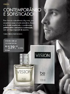 Perfume Vision Be Emotion - Masculino  100ml