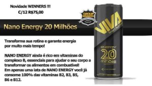 Nano Energy 20 Milhões Viva Smart Nutrition (12 Unidades)