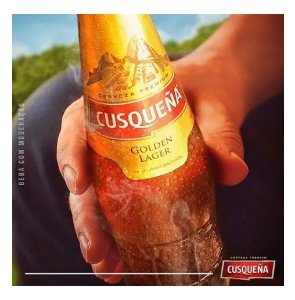 Kit 4 Cerveja Cusquena Goldem Lager 330ml