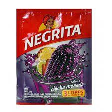 Chicha Morada em pó La Negrita / Pack com 3 unidades