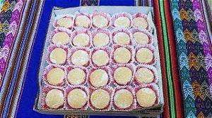 Alfajor Tradicinal Peruano Caixa com 50 unidades