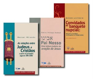Coleção Judaico-Cristã (3 livros).
