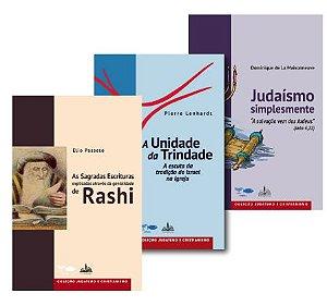 Box Sabedoria Judaica (3 livros).
