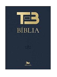 Bíblia TEB Tradução Ecumênica - Capa Dura - Nova Edição 2020.