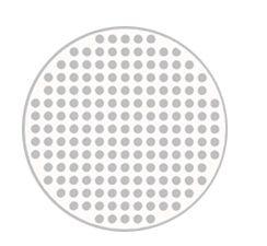 Lente de contato MESH BRANCA - WHITE MESH