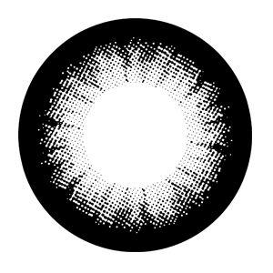 -SEM GRAU- Lente de contato PRETA EFEITO GRANDE - Circle lens