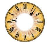 Lente de contato HALLOWEEN  Relógio- tokisaki kurumi -