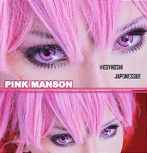 - SEM GRAU - Lente de contato ROSA MANSON - pink manson