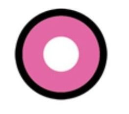 Lente de contato ROSA MANSON - pink manson