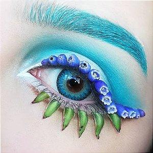 -SEM GRAU- LENTE DE CONTATO AZUL 3 TONES ELVES - DODO circle lens blue