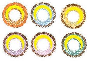 Lente de Contato MOON SERIES LUA - EFEITO MAIOR - Cores Variadas - Lux. 132 CIRCLE LENS