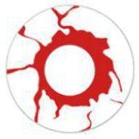 -SEM GRAU- LENTES ESPECIAIS BRANCO COM SANGUE WHITE RED BLOOD