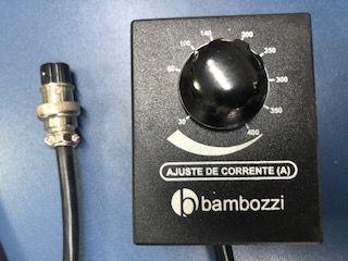 Controle de Ajuste de Corrente (A) 30~400 BAMBOZZI  10m de cabo