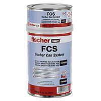 Adesivo Estrutural Denso  FCS FISCHER 1 kilo 43676