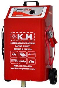 Carregador de Bateria Profissional 50A/2B 12/24V  Rapido/Lenta/Auxiliar