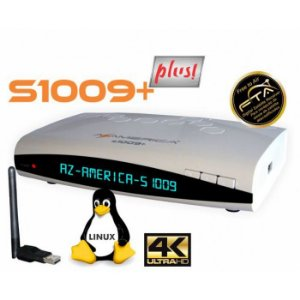 AZAMERICA s1009+ PLUS - IKS / SKS / CS / WI-FI / ONDEMAND - (ACM)